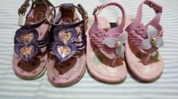 Sandálias para Meninas Belinha (nº 21) + BIRI (nº 22)