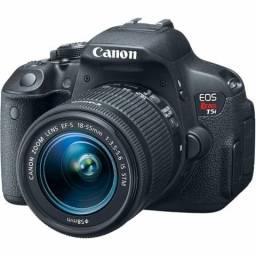 Canon T5i + Lente 18-55mm + Mic Externo + 32gb + Tripé + + +