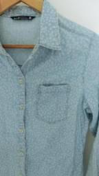 Camisa jeans linda