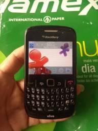 Celular Blackberry de botões