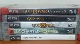 15 jogos de PS3 originais e em bom estado ( somente venda ! )