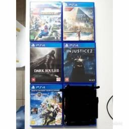 Cinco jogos PlayStation 4