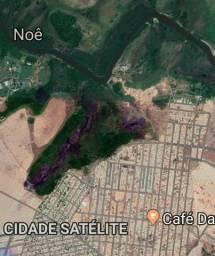 Terreno com 100.000 mts quadrados no bairro cidade satelite