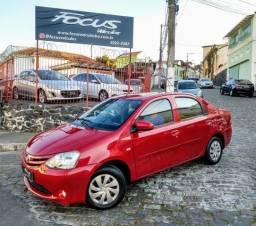 Etios sedan 1.5 2015 top + IPVA e transferência - 2015