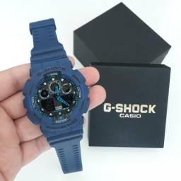 Relógio G Shock Casio Azul NOVO