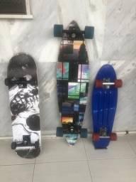 Skates e longboards ( preço ta barato ) para sair