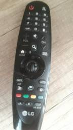 Smart tv LG 49,4k controle smart magic top