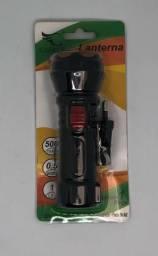 Mini Lanterna de LED Com Bateria Recarregável 500mAh Caerus Nova na Embalagem