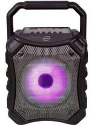 Caixa de Som Bluetooth Speaker c/ Rádio FM e Led RGB Newlink - SP112 produto novo