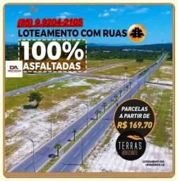 Título do anúncio: R$ 169,70 Lotes liberado para construção as margens da BR 116 a 25 minutos de Fortaleza