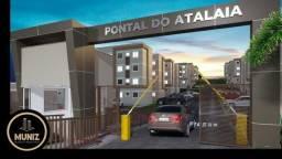 RS Lançamento MRV Pontal do Atalaia Divisa com Olinda, 2 quartos ,Piscina