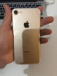 Apple Iphone 7 128gb Dourado Novo Com 1 ano de Garantia