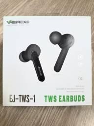 Fone De Ouvido Tws Earbuds - Ej-tws-1 / Marca - Verde