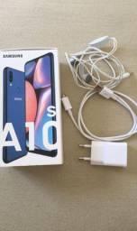 Samsung A10s novo completo aceito cartão