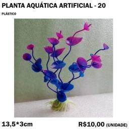 Decoração de Aquário: Planta Artificial Modelo 20
