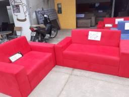 Este lindo sofá 550 reais na promoção