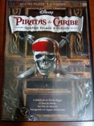 Dvd de Piratas do Caribe (4 dvds/ 4 filmes) e Tomates Verdes e Fritos