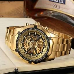 Relógio automático original forsining