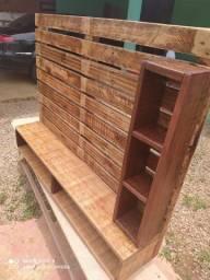 Painéis de madeira novo