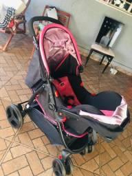Carrinho de bebê + bebê conforto Cosco
