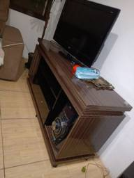 Rack para rádio e TV