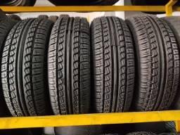 4 pneus 175/65 R14 novos remoldados 6 meses de garantia (700$ até 6x sem juros no cartão)