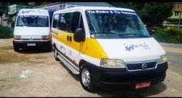 Vendo ou troco Van Fiat Ducato 2007 por Ônibus ou micro ônibus