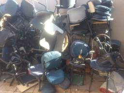 Compramos sucatas de cadeiras de escritório