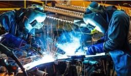 Vaga de auxiliar de metalurgica