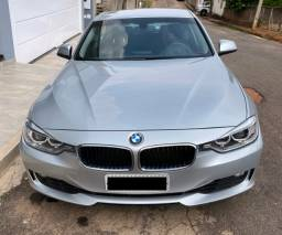 Bmw 320i 2015 Prata 2.0 Turbo Active Flex 4p