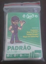Pacote saco plástico protetor para cartas 63.5x88 mm