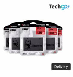 Hd Ssd Notebook Kingston A400, 120GB, SATA, Leitura 500MB/s, Gravação 320MB/s