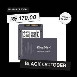 Ssd novo kingdian 120 e 240gb com garantia