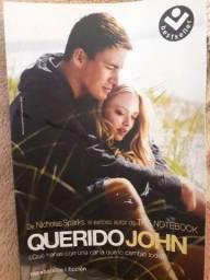 Troco livro Querido John espanhol por português