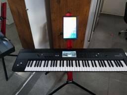 teclado korg crome zerado