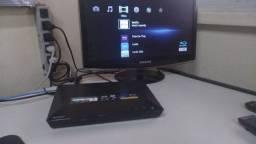 Blu-ray Player Sony Bdp-s1100 Netflix Telecine Play YouTube