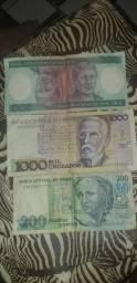 Notar de cruzero cruzado vendo por 100 reais as 3 notas