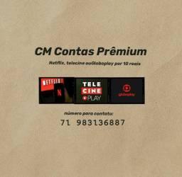 Globoplay ou Netflix 10 reais