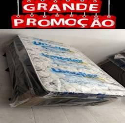 Título do anúncio: Cama Box Solteiro+Colchão D33 Novo Dupla Face