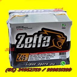 Promoção relâmpago de Bateria Zetta 45 ah