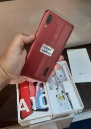 Samsung A10s Vermelho zero Nota Garantia