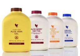 Sucos de Aloe Vera 100% Original