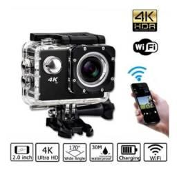 Câmera Go Pro Action 4k Sport Go Cam Pro Ultra Wifi Hd Prova Dágua - R$ 179,99