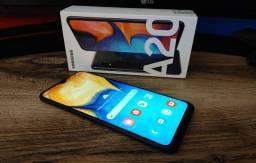 Samsung A20 32GB/ 3GB Ram / Amoled HD+ 6.4 pol / Troco / Parcelo