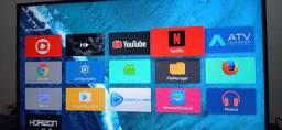 TV Box 8+64gigas- Conversor TV Smart - Barato Poucas Unidades