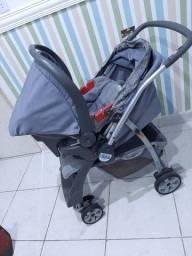 Carrinho de bebê e Bebê conforto Burigotto Rio Plus (ACEITAMOS CARTÃO)