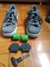 Tênis de rodinha heelys tamanho 39/40