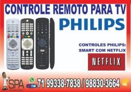 Controle Philips Teclas Youtube e Netflix em Salvador Ba