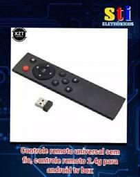 Controle universal para tv box