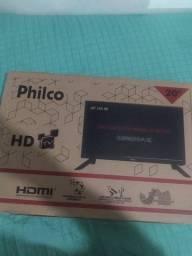TV Philco led, HD TV 20 polegadas na caixa